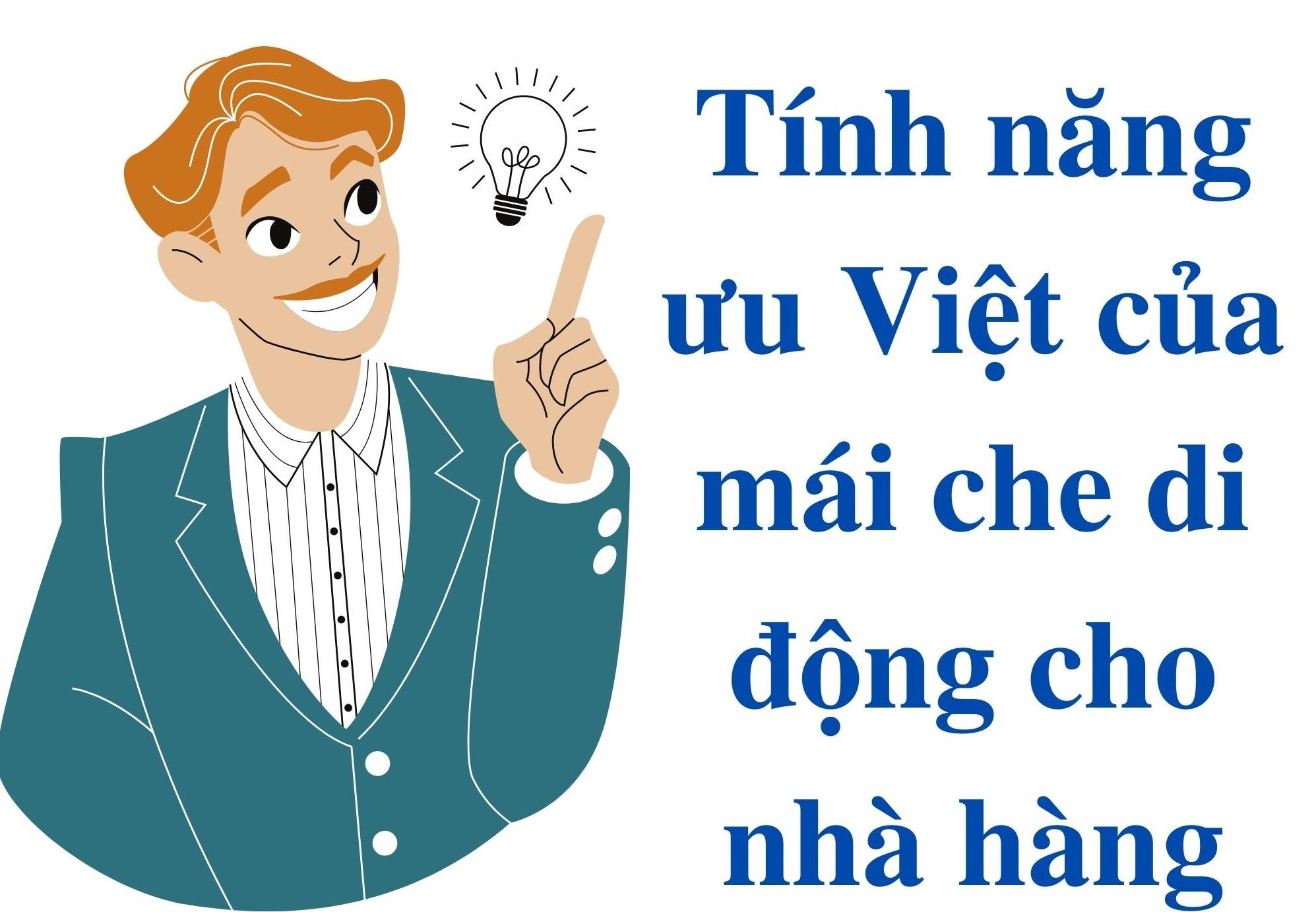 Mái Che Di Động Cho Nhà Hàng Với Những Tính Năng Ưu Việt