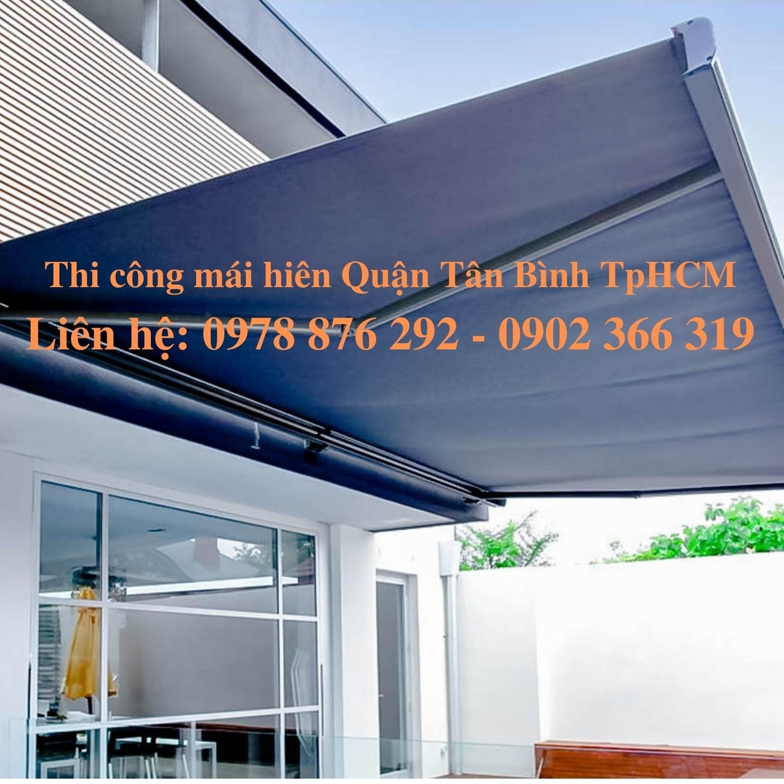 Chuyên Thiết Kế Thi Công Mái Hiên Quận Tân Bình TpHCM | 1000+ Mẫu Đẹp