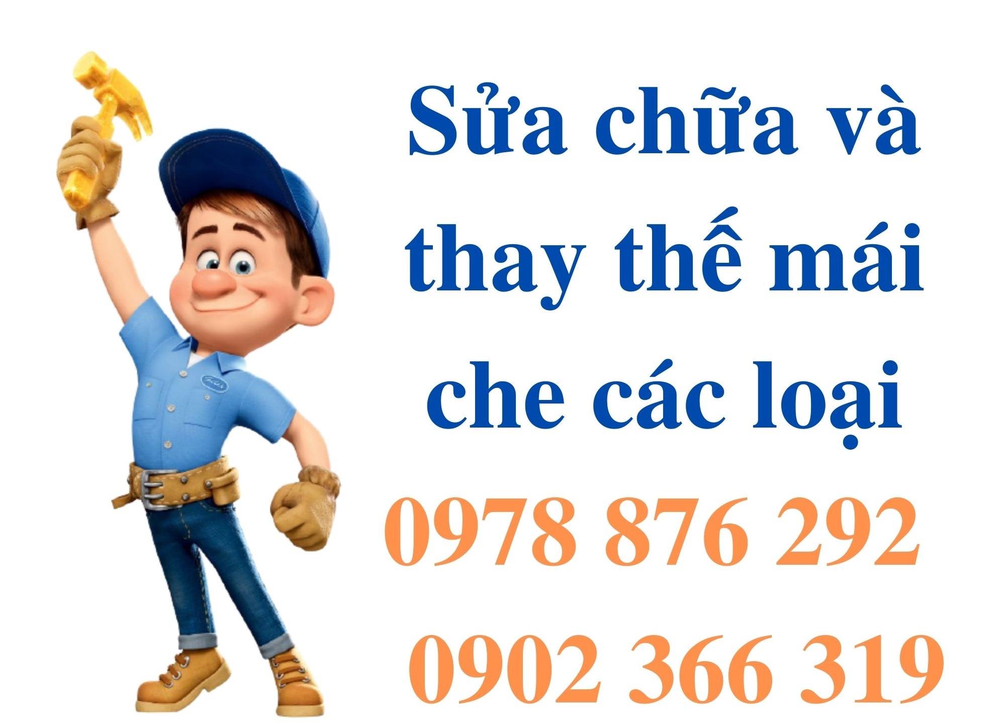 Sửa Chữa Mái Che & Thay Bạt Mái Che Uy Tín