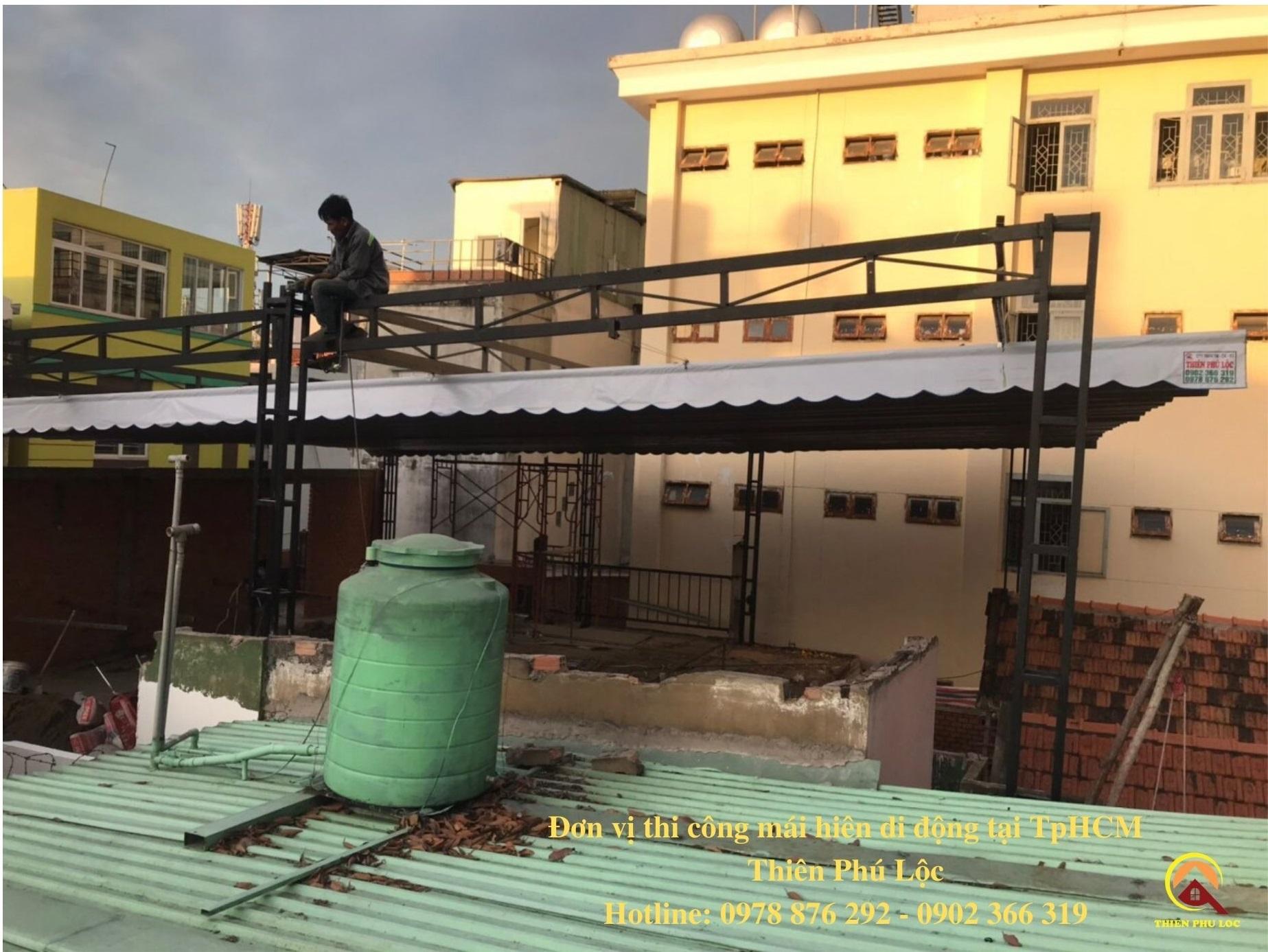 Lắp Đặt Mái Hiên Di Động Tại TpHCM | Đơn Vị Uy Tín & Chất Lượng