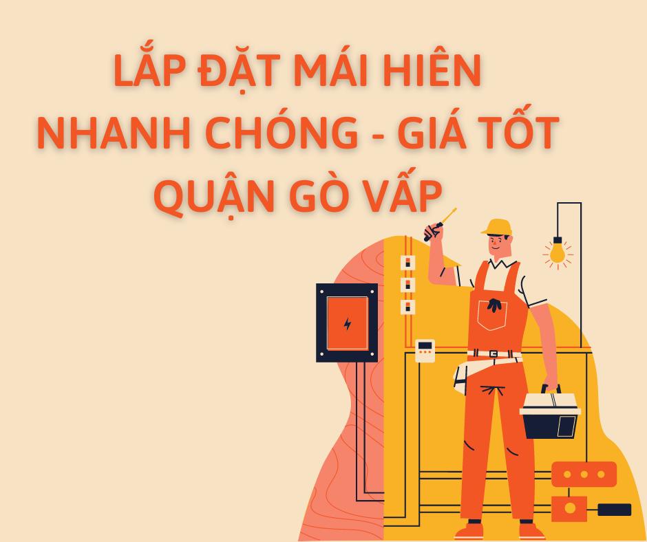 Mái Che Di Động Quận Gò Vấp TpHCM | Lắp Đặt Nhanh Chóng – Giá Tốt Nhất
