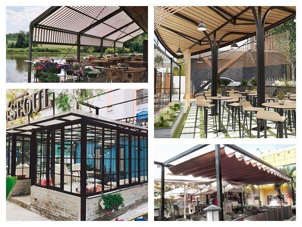Các Lựa Chọn Mái Xếp Di Động Cho Quán Cafe